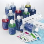pH calibration solutions with certificate (downloadable)
