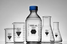Kimble  Erlenmeyer Flasks, Wide Mouth