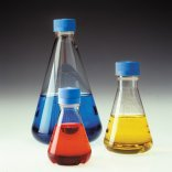 Sterile Disposable Erlenmeyer Flasks with Baffled Bottom and PTFE Membrane  Nalgene®