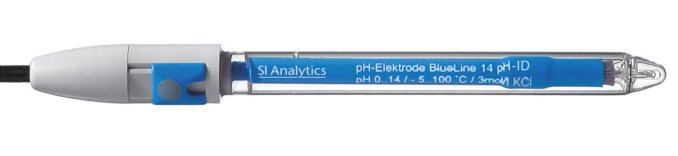 pH-Einstabmesskette mit Sensorkennung BlueLine 14 pH ID  SI Analytics®