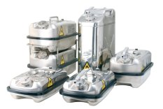 asecos  Safety Canisters with Fine Dispensing System / Screw Cap