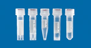 BRAND  Microcentrifuge Tubes with Tamper-Evident Screw Cap, Sterile