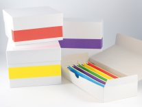 ratiolab®  Coloured Adhesive Labels Rainbow for Cryo Boxes