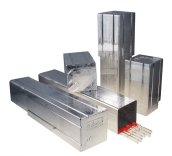 ratiolab®  Sterilising Pipette Boxes and st. steel holder