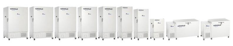 Ewald Innovationstechnik  Ultra-Low Temperature Freezers Down to - 86 °C