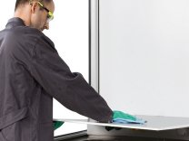 asecos®  Hazardous Material Working Places with Fresh Air Curtain