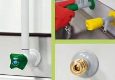 asecos®  Accessories for Hazardous Material Working Places with Fresh Air Curtain