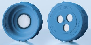 DURAN venting membrane screw caps