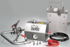 Bürkle  Withdrawal System for Solvents with Discharge Tube and Discharge Hose