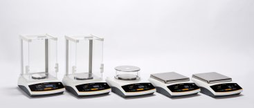 Entris II precision balances with external calibration